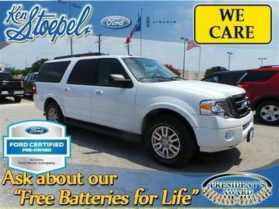 2012 Ford Expedition EL XLT SUV for sale in Kerrville for $29,345 with 44,125 miles.