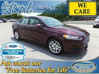 2013 Ford Fusion SE Sedan for sale in Kerrville for $18,862 with 33,056 miles.