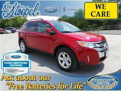 2013 Ford Edge SEL SUV for sale in Kerrville for $25,899 with 13,514 miles.