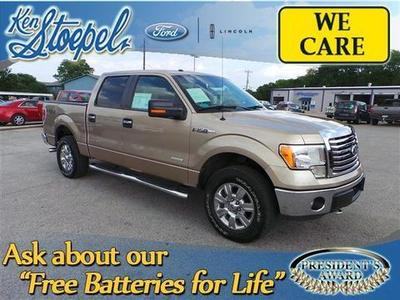 2012 Ford F150 XLT Crew Cab Pickup for sale in Kerrville for $29,375 with 42,261 miles.