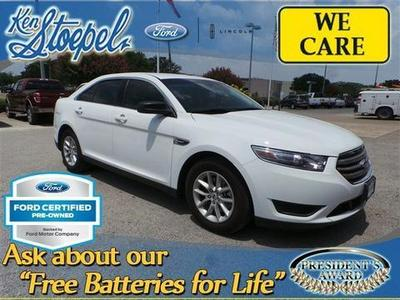 2013 Ford Taurus SE Sedan for sale in Kerrville for $19,799 with 6,075 miles.