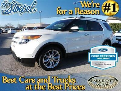 2011 Ford Explorer Limited SUV for sale in Kerrville for $29,991 with 25,326 miles.