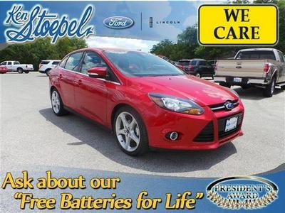 2012 Ford Focus Titanium Sedan for sale in Kerrville for $17,999 with 27,436 miles.