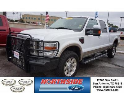 2010 Ford F250 King Ranch Crew Cab Pickup for sale in San Antonio for $38,979 with 54,464 miles.