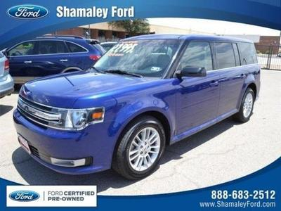 2013 Ford Flex SEL SUV for sale in El Paso for $25,400 with 34,555 miles.