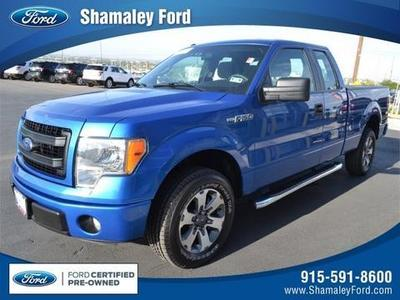 2013 Ford F150 STX Extended Cab Pickup for sale in El Paso for $27,995 with 24,392 miles.