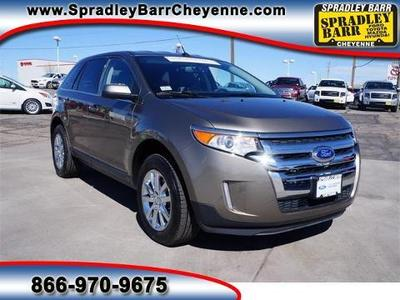 2013 Ford Edge Limited SUV for sale in Cheyenne for $28,593 with 16,985 miles.