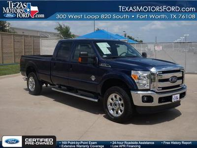 2012 Ford F350 Lariat Crew Cab Pickup for sale in Fort Worth for $48,880 with 9,365 miles.