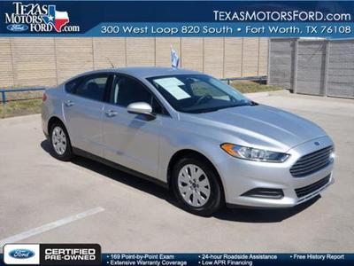 2013 Ford Fusion S Sedan for sale in Fort Worth for $18,888 with 22,344 miles.