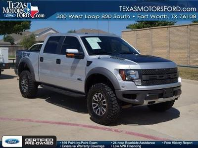 2012 Ford F150 SVT Raptor Crew Cab Pickup for sale in Fort Worth for $52,811 with 24,359 miles.