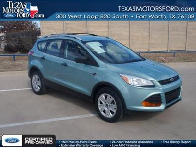 2013 Ford Escape S SUV for sale in Fort Worth for $18,488 with 15,386 miles.