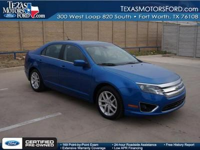 2012 Ford Fusion SEL Sedan for sale in Fort Worth for $21,995 with 19,426 miles.