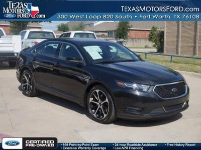 2014 Ford Taurus SHO Sedan for sale in Fort Worth for $37,841 with 17,995 miles.