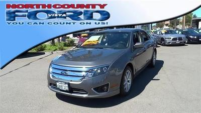 2012 Ford Fusion SEL Sedan for sale in Vista for $14,887 with 53,654 miles.