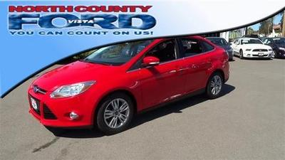 2012 Ford Focus SEL Sedan for sale in Vista for $13,993 with 63,000 miles.