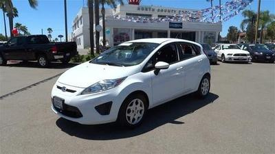 2012 Ford Fiesta SE Hatchback for sale in Vista for $13,492 with 21,783 miles.