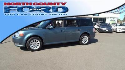 2010 Ford Flex SEL SUV for sale in Vista for $19,300 with 66,238 miles.