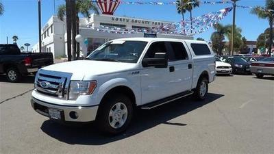 2011 Ford F150 XLT Crew Cab Pickup for sale in Vista for $27,995 with 30,330 miles.