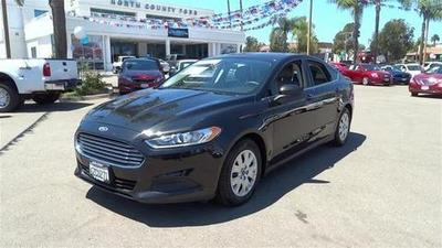 2013 Ford Fusion S Sedan for sale in Vista for $17,581 with 35,565 miles.