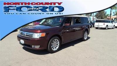 2012 Ford Flex SEL SUV for sale in Vista for $26,481 with 18,966 miles.