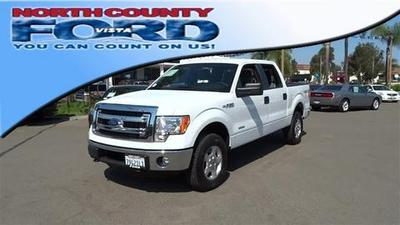 2013 Ford F150 XLT Crew Cab Pickup for sale in Vista for $30,989 with 27,241 miles.