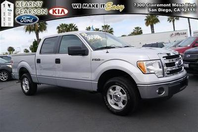 2013 Ford F150 XLT Crew Cab Pickup for sale in San Diego for $30,988 with 25,895 miles.