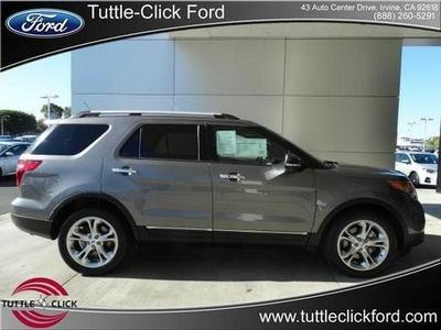 2013 Ford Explorer Limited SUV for sale in Irvine for $34,595 with 18,940 miles.