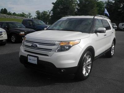 2011 Ford Explorer Limited SUV for sale in Staunton for $29,595 with 59,583 miles.