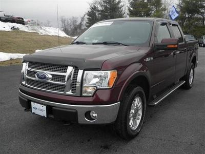 2010 Ford F150 Lariat Crew Cab Pickup for sale in Staunton for $33,995 with 54,684 miles.