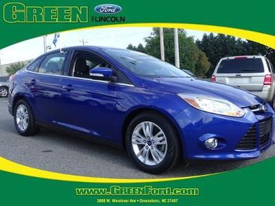 2012 Ford Focus SEL Sedan for sale in Greensboro for $18,999 with 40,421 miles.