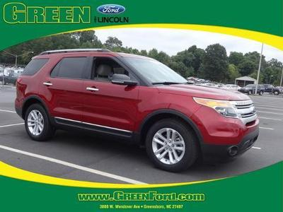 2013 Ford Explorer XLT SUV for sale in Greensboro for $29,000 with 21,120 miles.