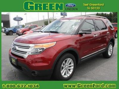 2013 Ford Explorer XLT SUV for sale in Greensboro for $30,490 with 36,702 miles.