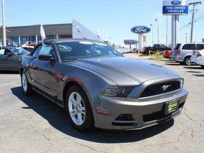 2014 Ford Mustang V6 Convertible for sale in Greensboro for $25,645 with 12,863 miles.