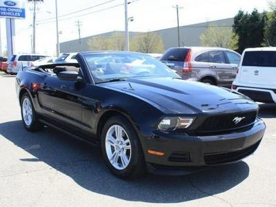 2012 Ford Mustang V6 Convertible for sale in Greensboro for $21,276 with 38,281 miles.