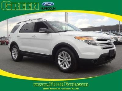 2013 Ford Explorer XLT SUV for sale in Greensboro for $32,999 with 38,788 miles.