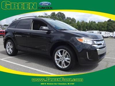 2013 Ford Edge Limited SUV for sale in Greensboro for $29,000 with 31,256 miles.