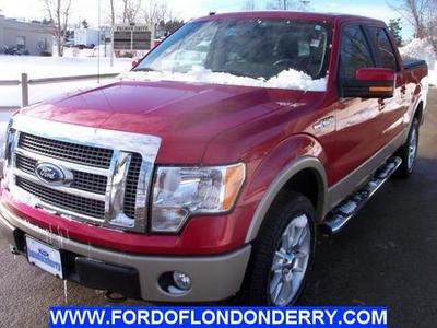 2010 Ford F150 Crew Cab Pickup for sale in Londonderry for $28,999 with 54,938 miles.