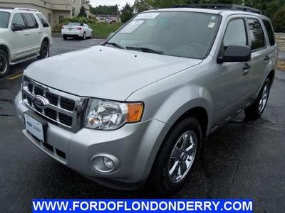 2012 Ford Escape XLT SUV for sale in Londonderry for $19,320 with 40,914 miles.