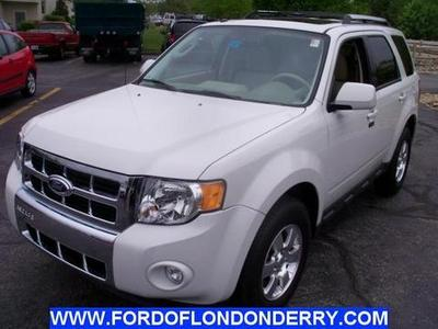 2012 Ford Escape Limited SUV for sale in Londonderry for $21,915 with 26,999 miles.