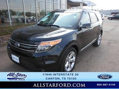 2013 Ford Explorer Limited SUV for sale in Canton for $29,595 with 39,269 miles.