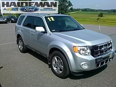 2012 Ford Escape Limited SUV for sale in Kutztown for $21,695 with 39,456 miles.