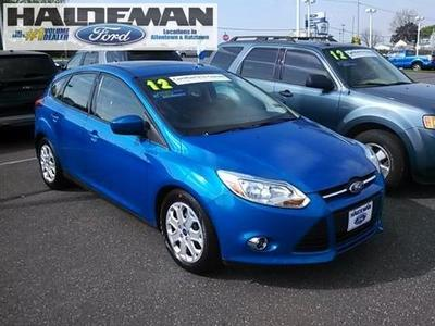 2012 Ford Focus SE Hatchback for sale in Kutztown for $15,295 with 27,575 miles.