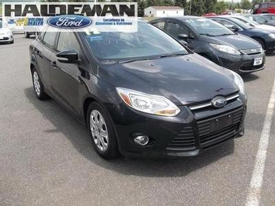 2012 Ford Focus SE Sedan for sale in Kutztown for $15,495 with 31,524 miles.