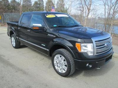 2012 Ford F150 Platinum Crew Cab Pickup for sale in Quincy for $39,975 with 44,356 miles.