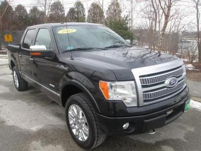 2012 Ford F150 Crew Cab Pickup for sale in Quincy for $39,975 with 35,317 miles.