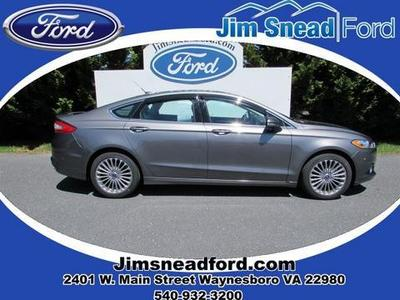 2013 Ford Fusion Titanium Sedan for sale in Waynesboro for $24,980 with 18,124 miles.