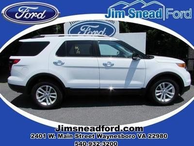 2013 Ford Explorer XLT SUV for sale in Waynesboro for $30,980 with 25,784 miles.