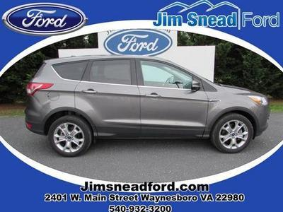 2013 Ford Escape SEL SUV for sale in Waynesboro for $25,980 with 27,788 miles.