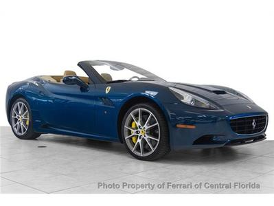 2011 Ferrari California Base Convertible for sale in Orlando for $173,995 with 3,684 miles.