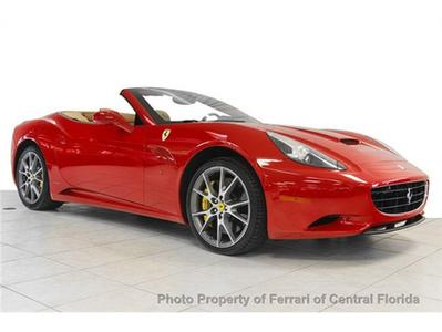 2011 Ferrari California Base Convertible for sale in Orlando for $178,895 with 4,441 miles.